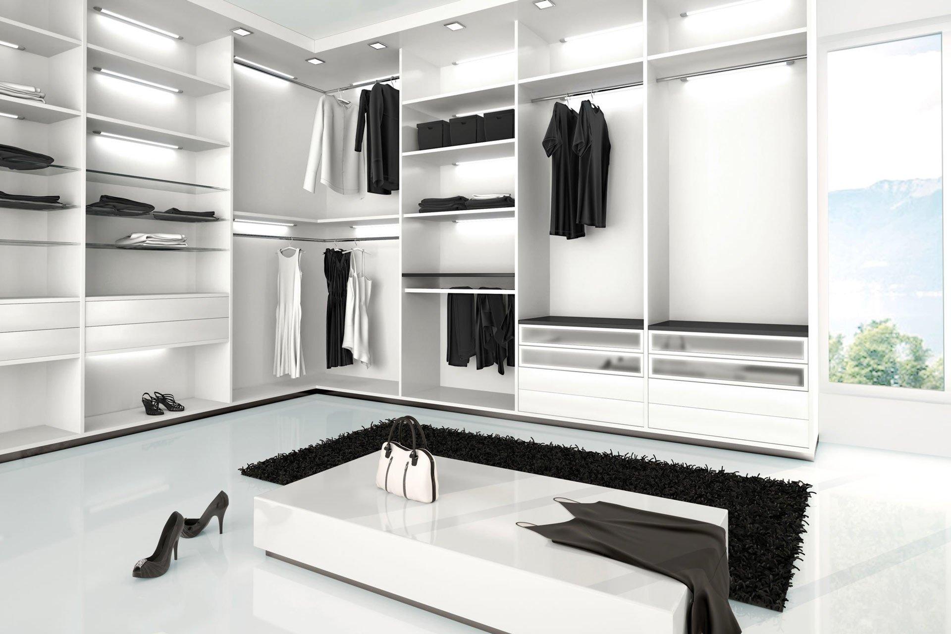 Cabina armadio su misura servizi di progettazione e realizzazione mobili su misura | Rivolta